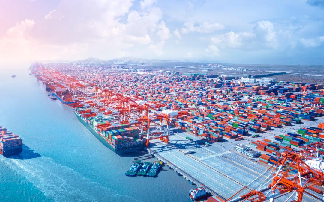 Havnevirksomhet, havn, container, skip